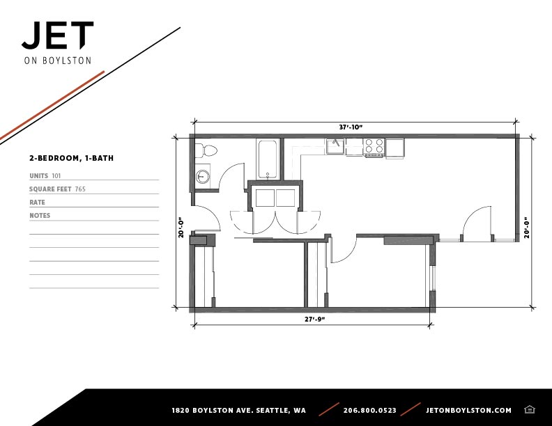 Jet on Boylston | View Apartments in Seattle's Capitol Hill